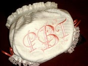 Image of Custom Monogrammed Baby Bloomers Custom Listing