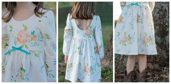 Image of Winter Blooms dress