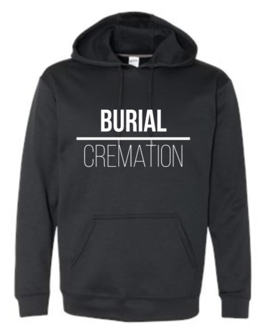 Image of Performance Hoody - BURIAL over CREMATION