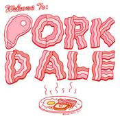 Image of Porkdale Parkdale T-Shirt - - PRE-ORDER