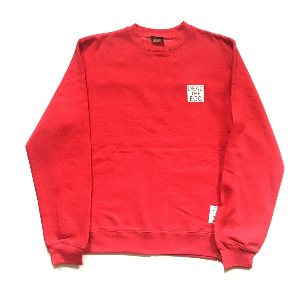 Image of KingNYC Dead The Ego Left Chest Crewneck