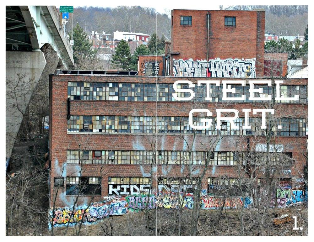 Image of Steel Grit #1
