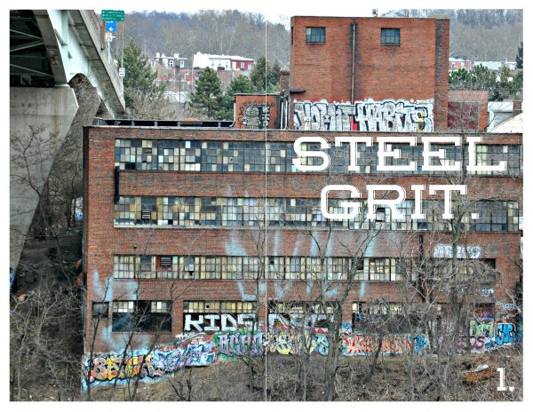 Image of Steel Grit Issues 1-4 Bundle Package
