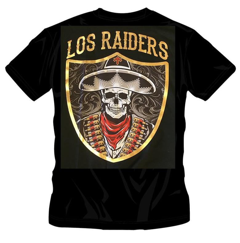 Image of #53 LOS RAIDERS TSHIRT