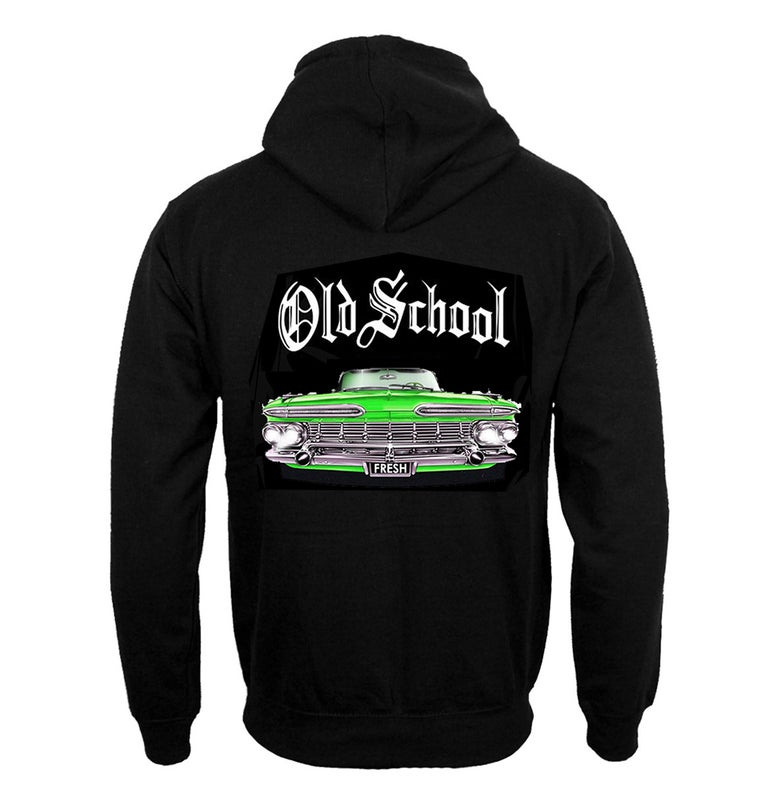 Image of #31H OS GREEN CAR HOODIE