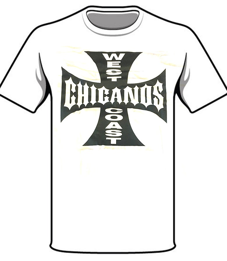 Image of #39 WEST COAST CHICANOS TSHIRT