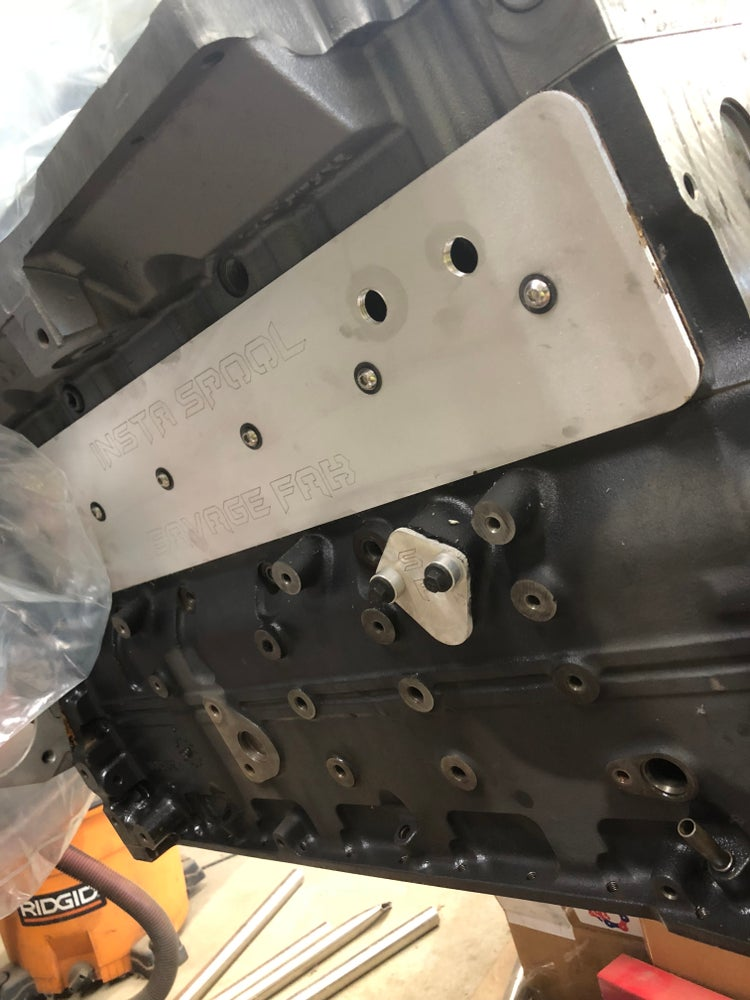 Image of Aluminum tappet cover 5.9 12v and 24v cummins engines