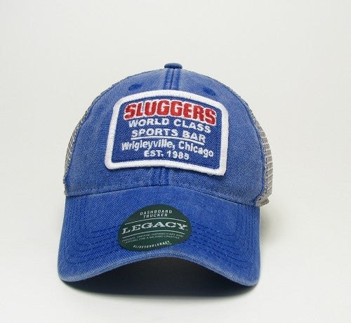 Image of Sluggers snap back trucker Legacy Cap