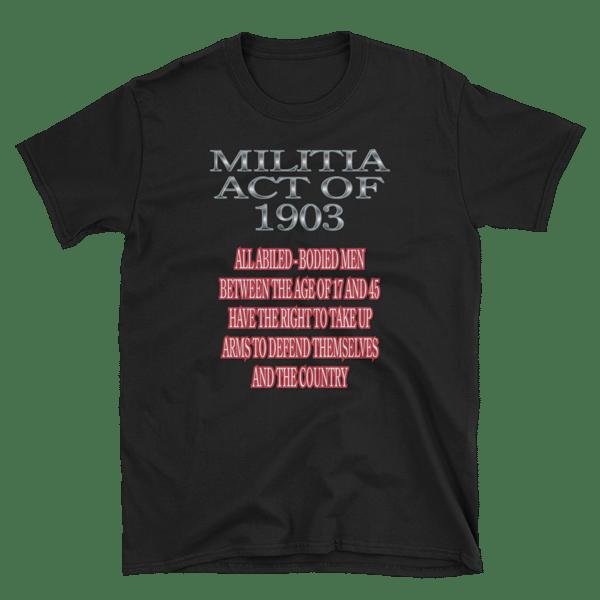 Image of MILITIA ACT