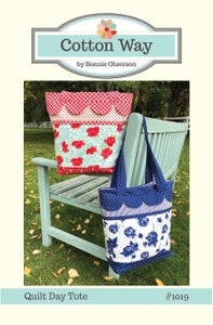 Image of Quilt Day Tote PDF Pattern #1019