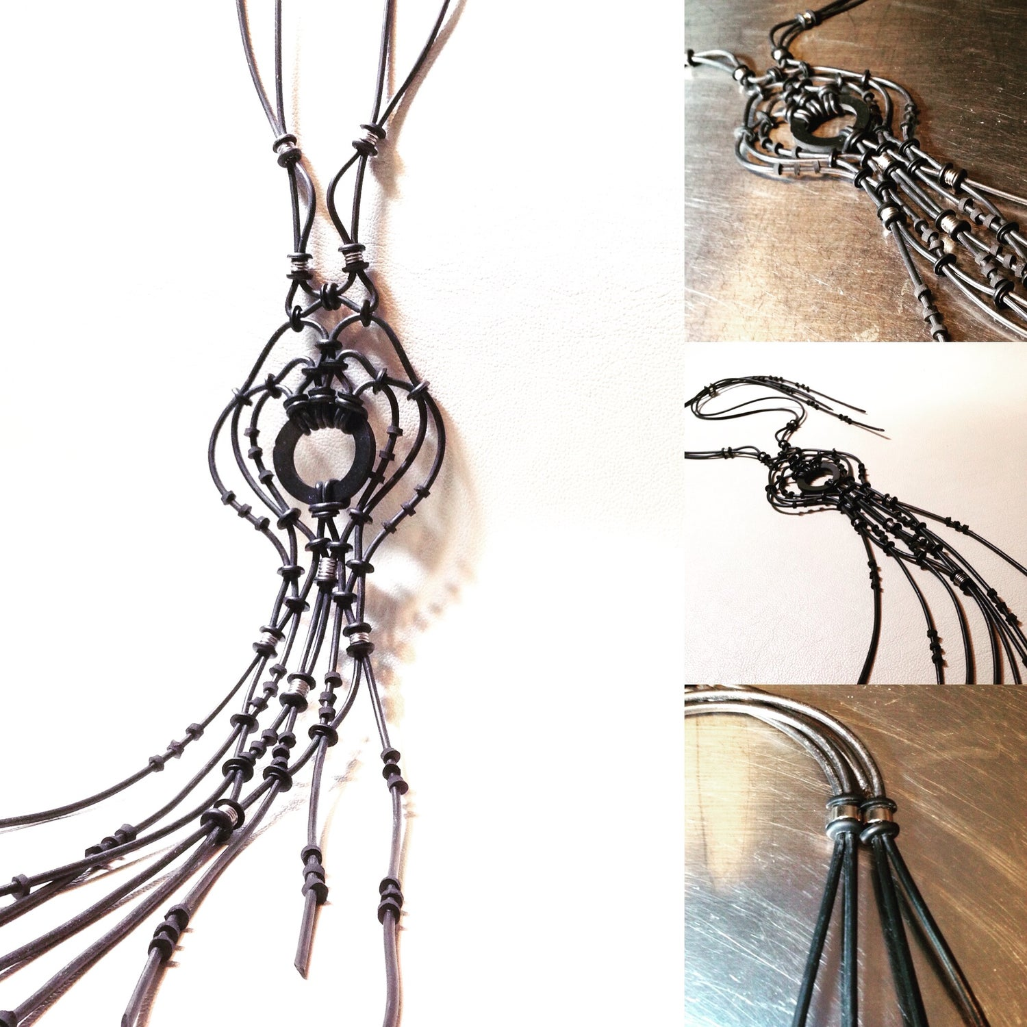 Image of Inkfish Necklace - One of a Kind