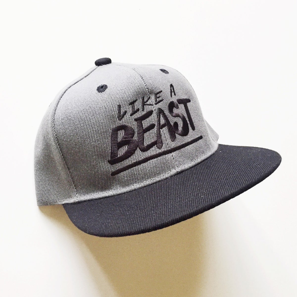 Image of LIKE A BEAST SNAPBACK HAT