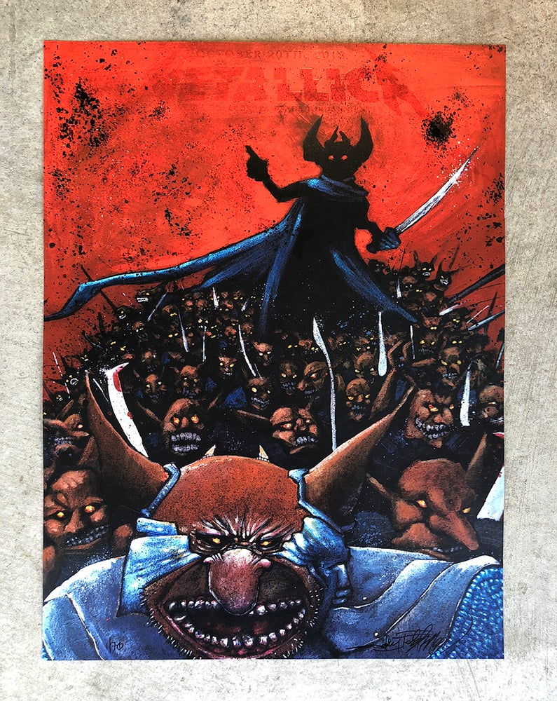 Image of Metallica State College Posters