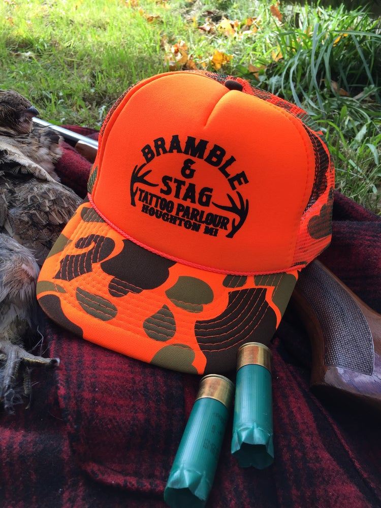 Image of Blaze Orange Shop Hat