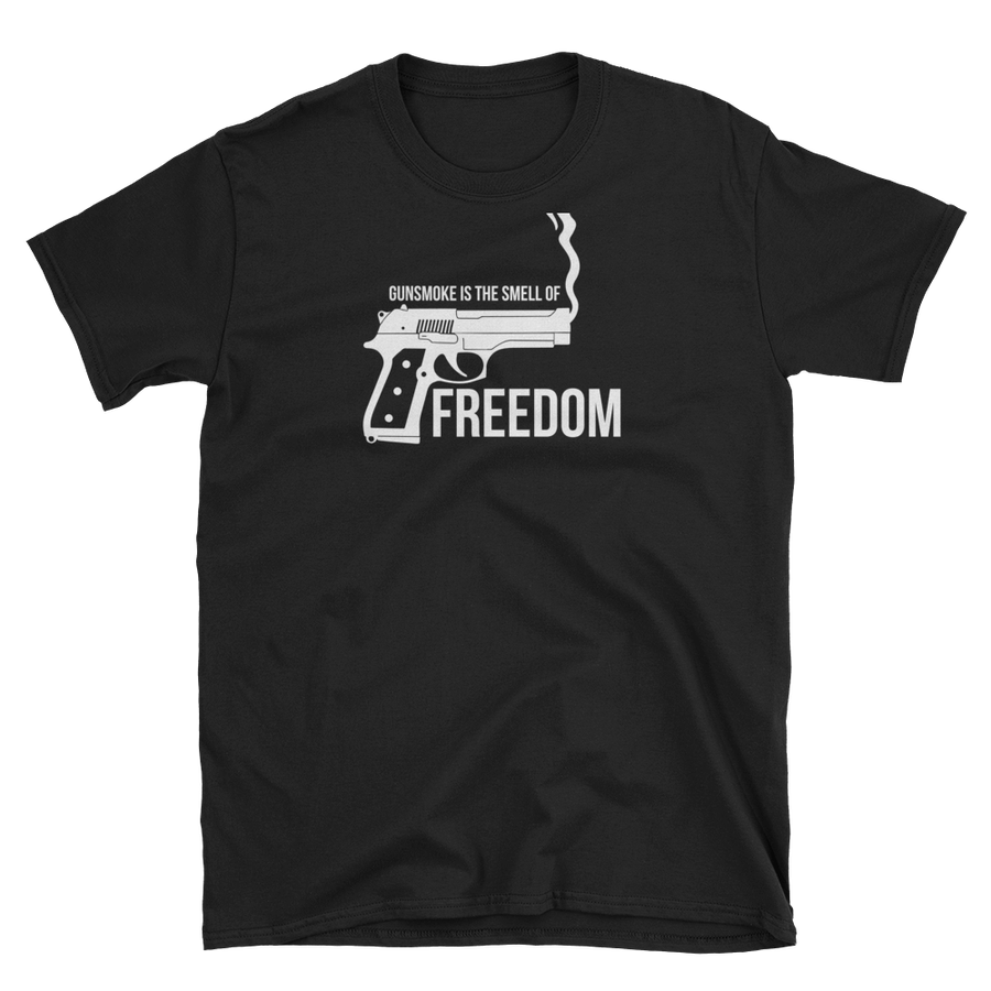 Image of GUN SMOKE = FREEDOM