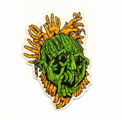 Image of Ghoul Hand Luke sticker