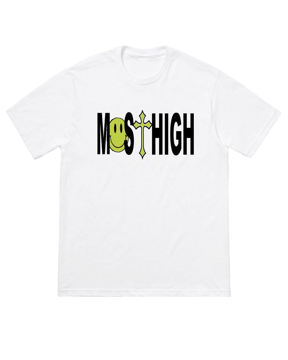 Image of MO$T HIGH TEE - WHITE
