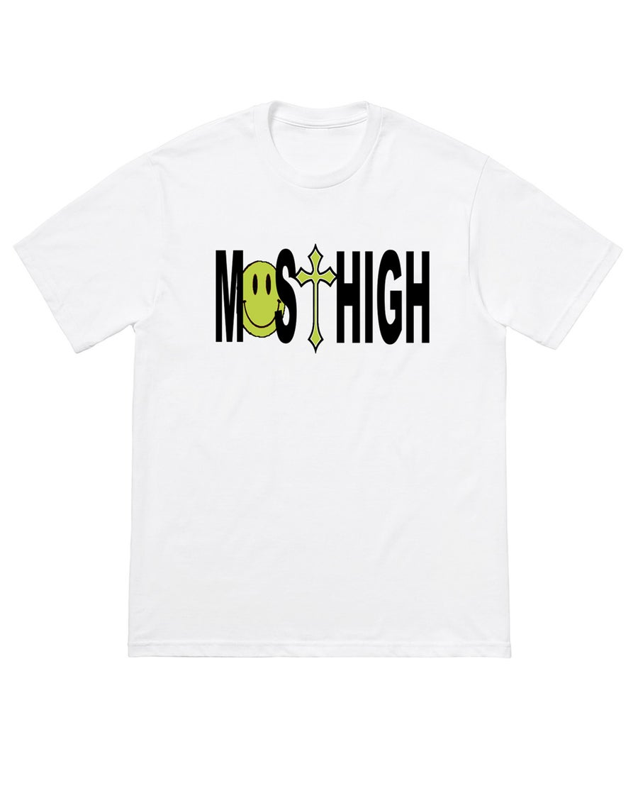 Image of MO$T HIGH TEE - WHITE