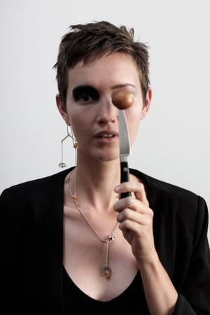 Image of Tick tock single earring