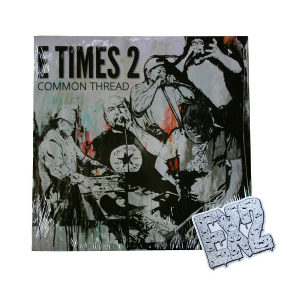 Image of E TIMES 2 (EX2) - COMMON THREAD (Vinyl)