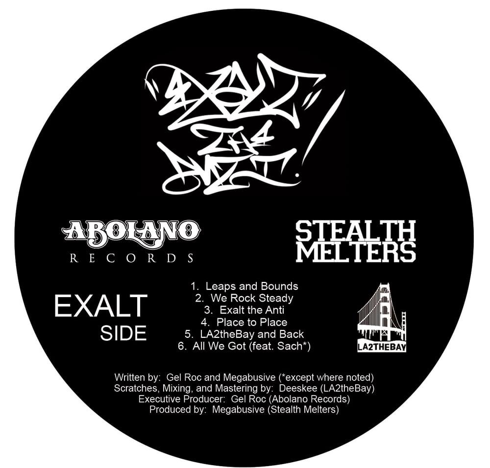 Image of EXALT THE ANTI- HHATW (VINYL LP)