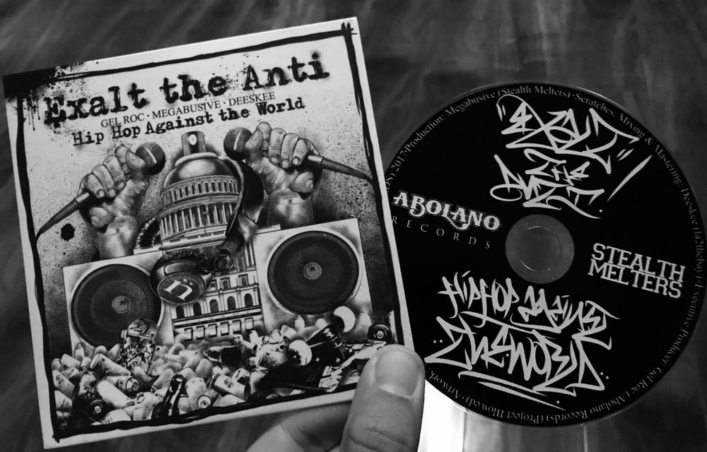 Image of EXALT THE ANTI - HIP HOP AGAINST THE WORLD (CD)