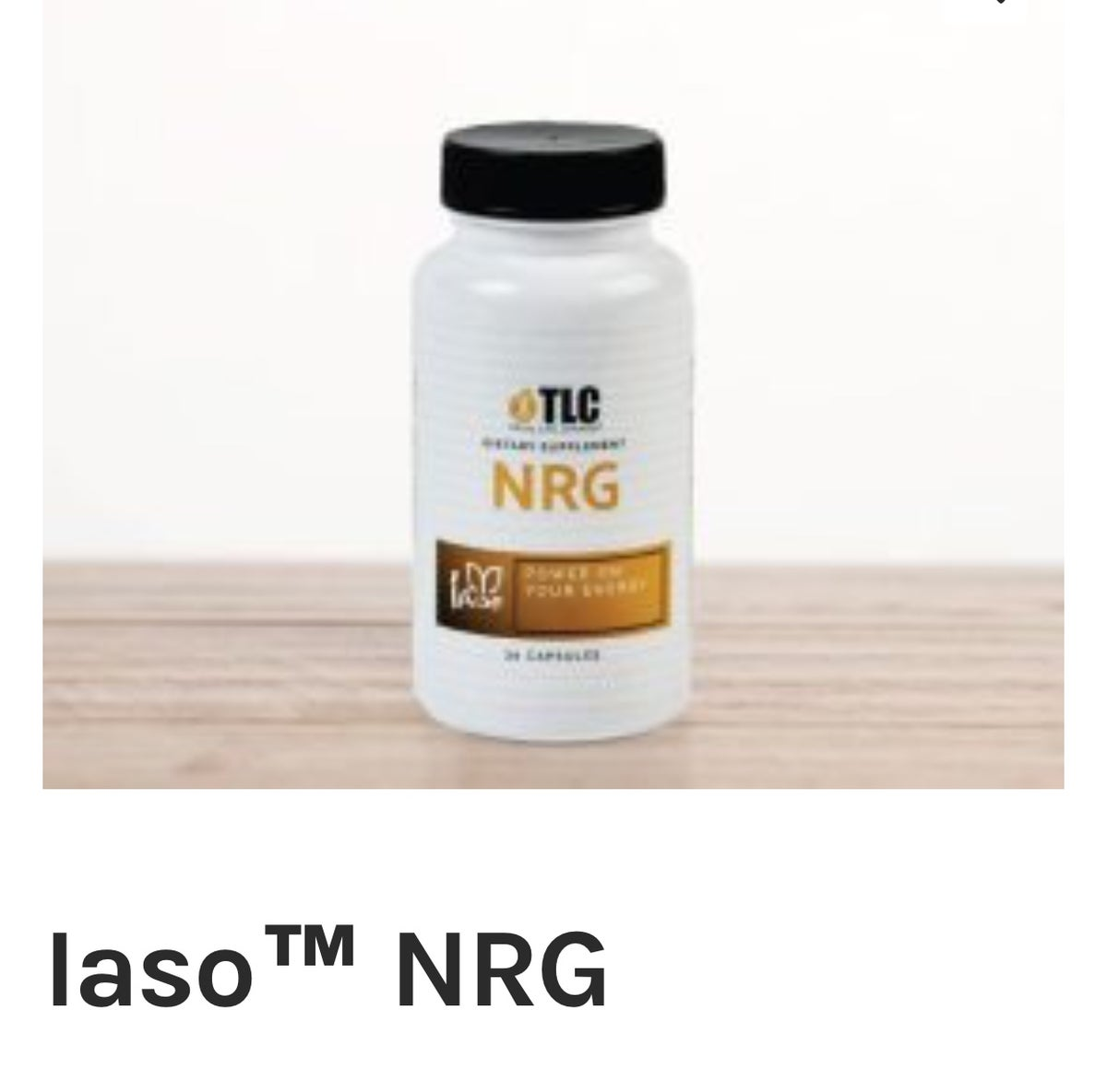 Image of Iaso NRG