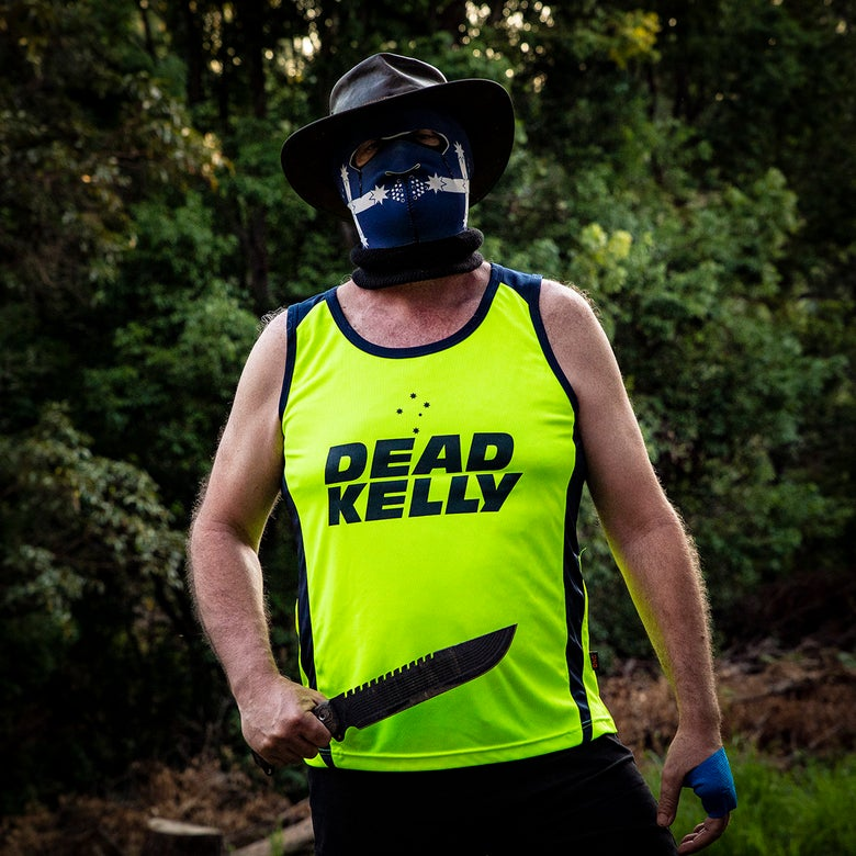 Image of Dead Kelly - Australian Made - High Viz Singlet