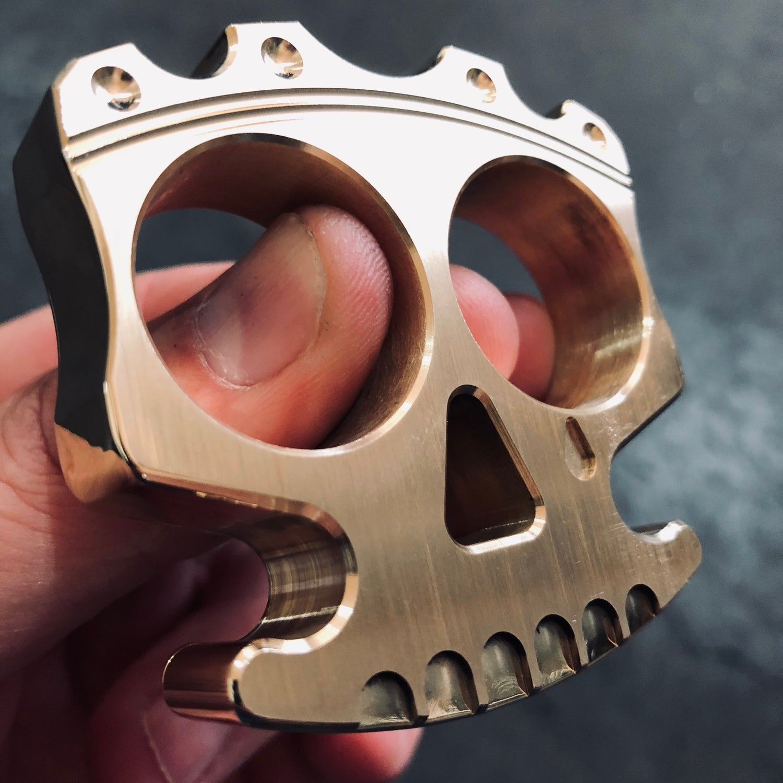 Image of King of Skulls - Brass