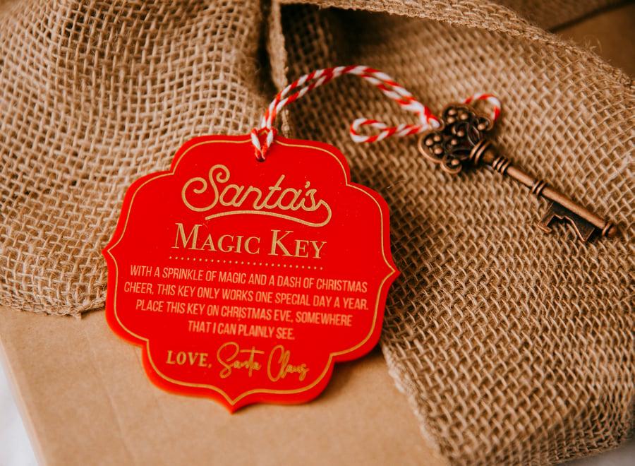 Image of Santa's Magic Key - Red