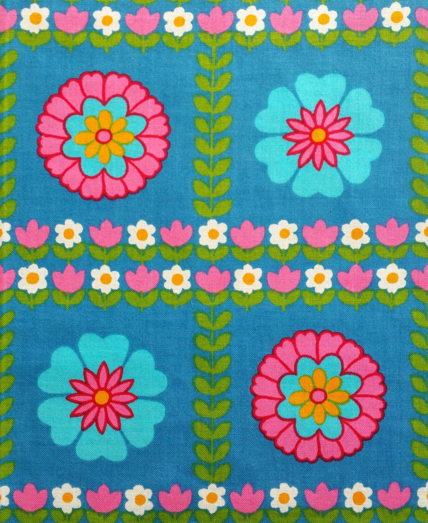 Image of Pretty Floral Vintage Fabric
