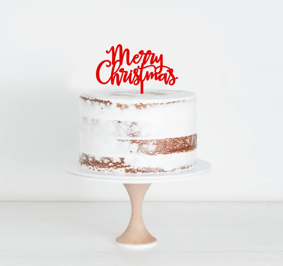 Image of Merry Christmas Script