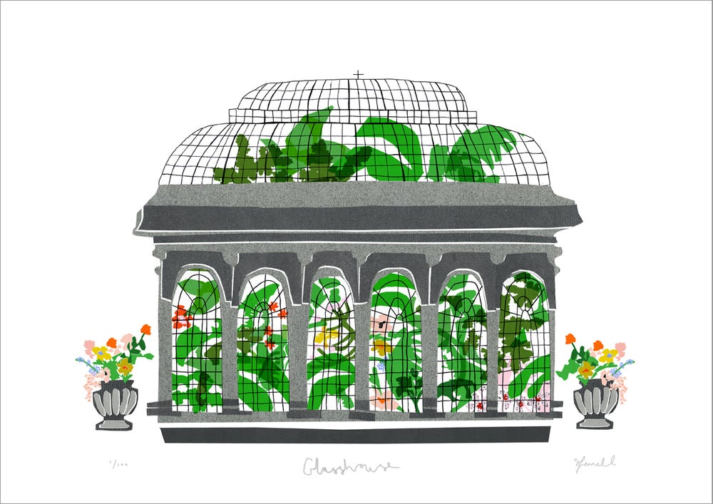 Image of Glasshouse Giclee Print