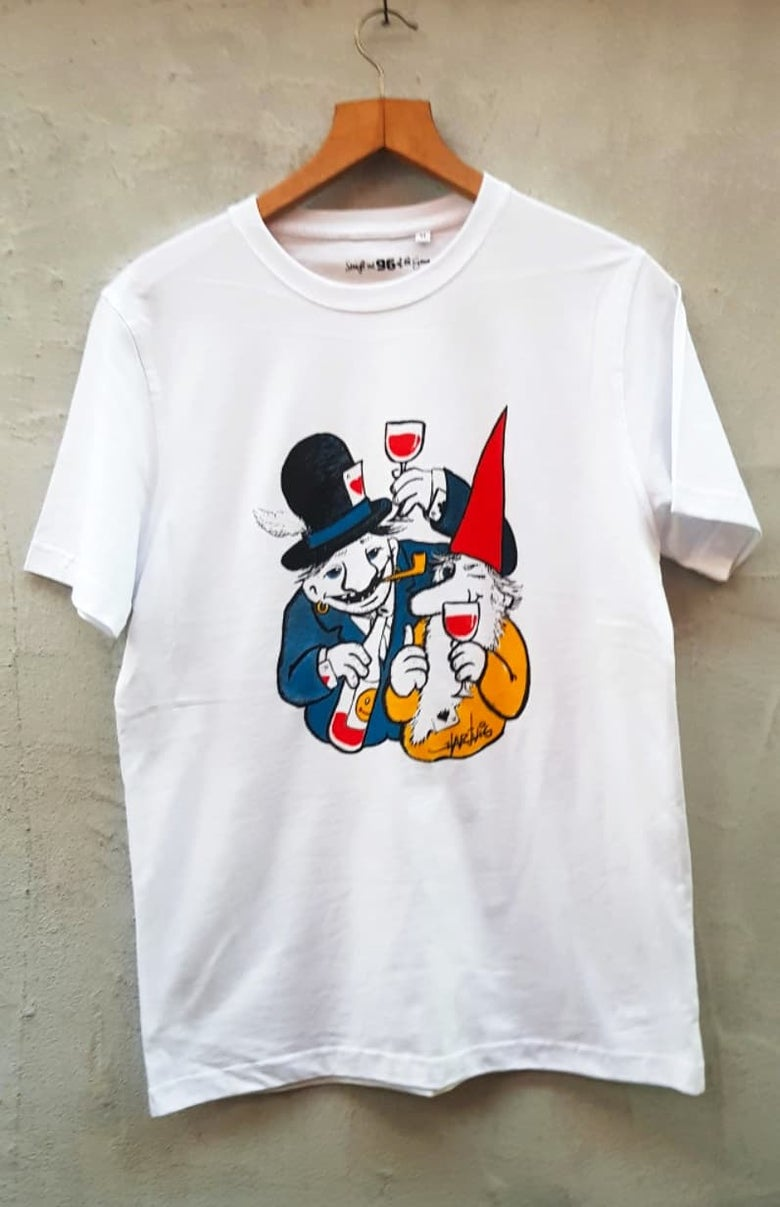 Image of Clever characters T-shirt