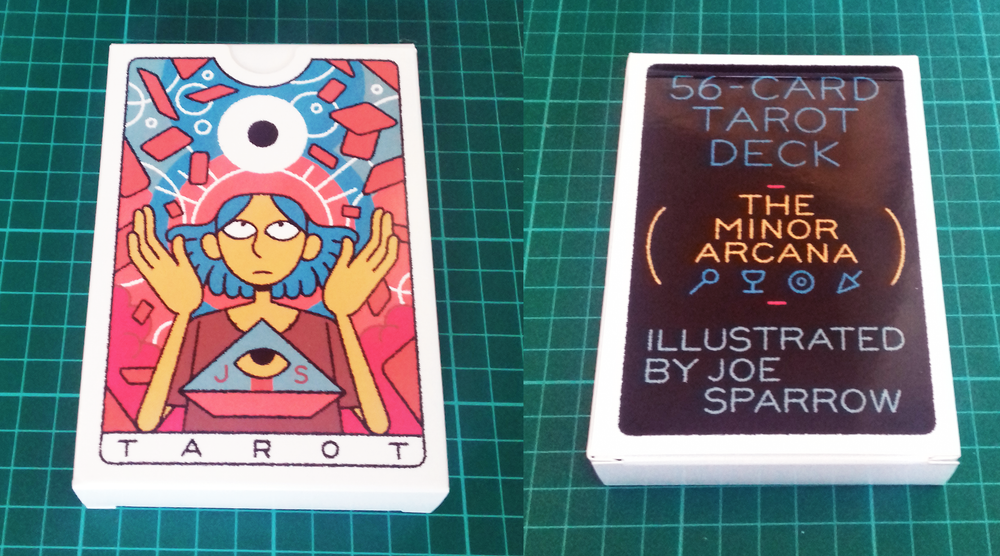 Minor Arcana Tarot Deck