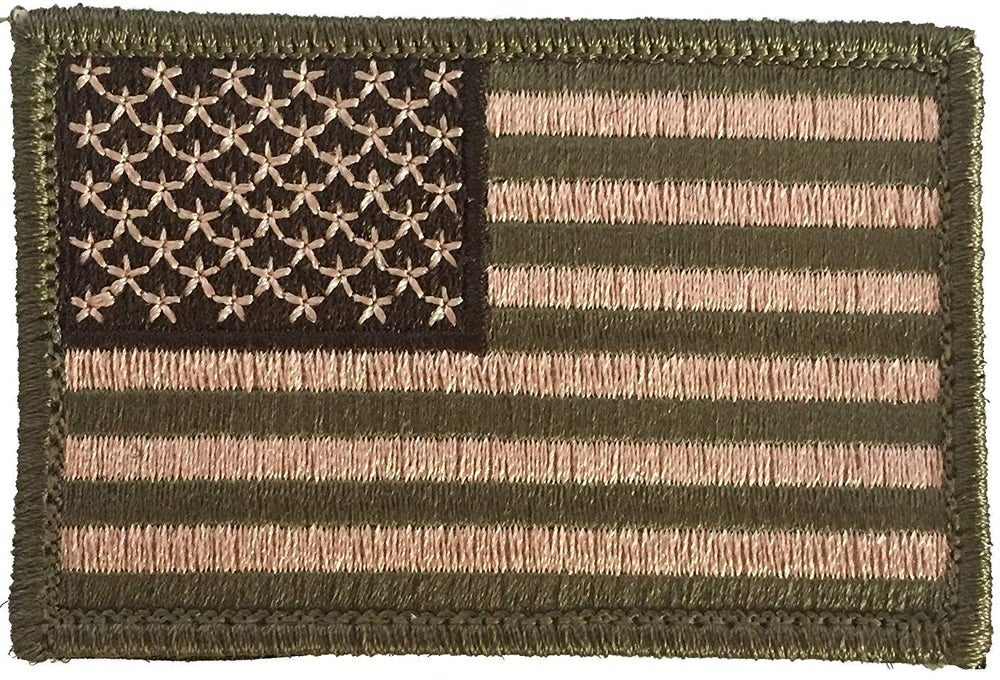 Image of American Flag Patch by 2A Tactical Gear - US Flag Patch Comes w/ Hook n Loop Backing