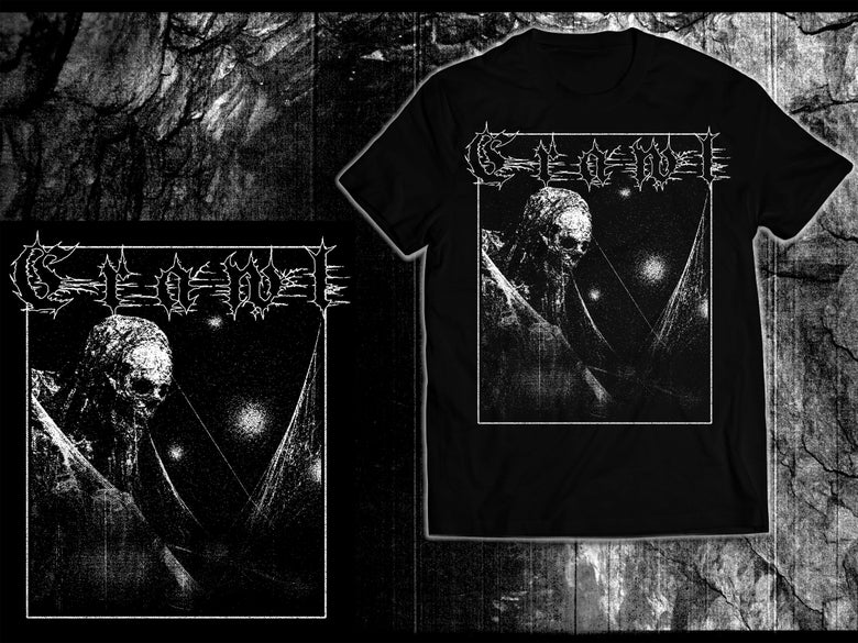 "Image of ""Paralyzed Tomb-Dweller"" Winter 2018 Tour T-Shirt"