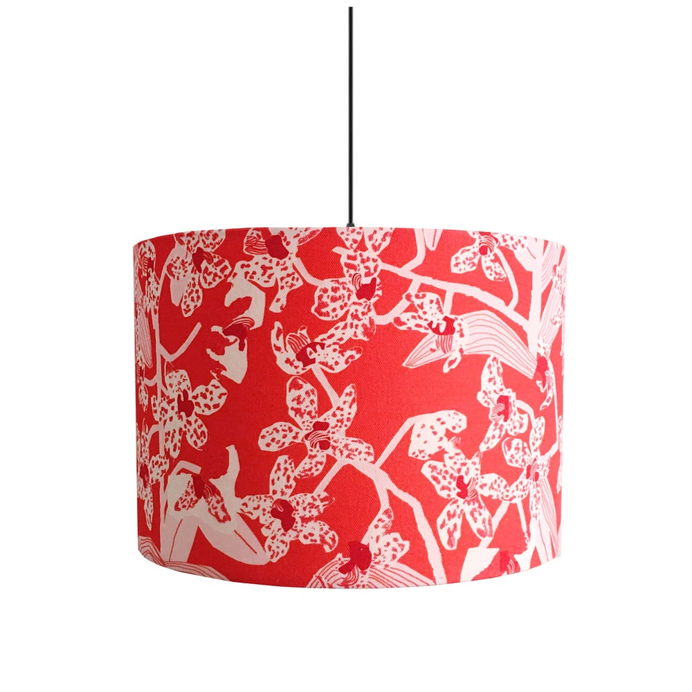Image of Daphne (Crimson) 30cm Lampshade