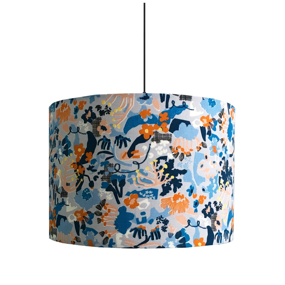 Image of Vivienne (Blue) 30cm Lampshade