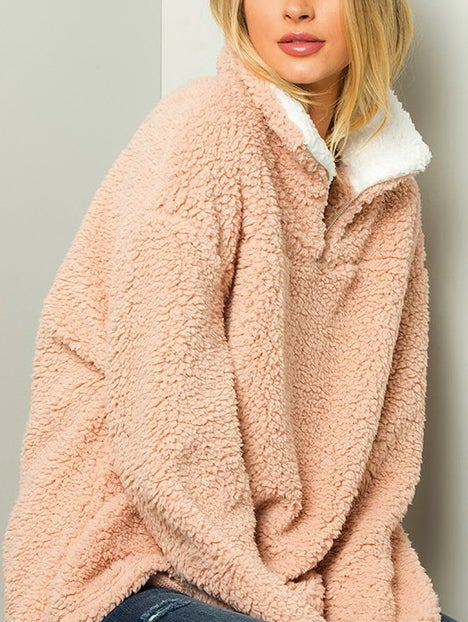 Image of Cozy Rose Pullover