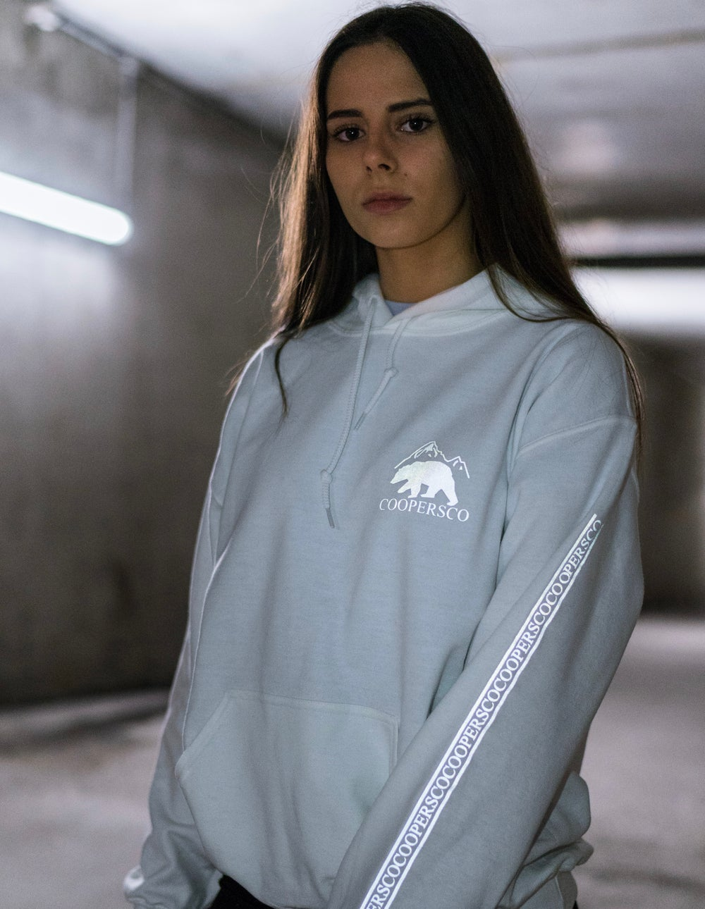 Image of Hoodie création n°4 blanc édition
