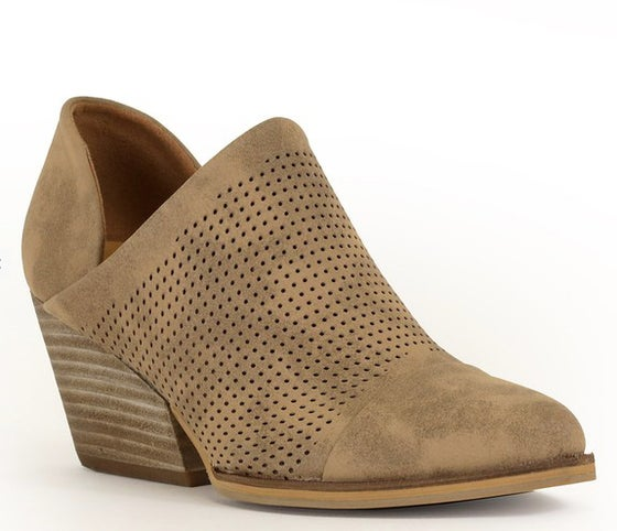 Image of Toffee Ankle Bootie