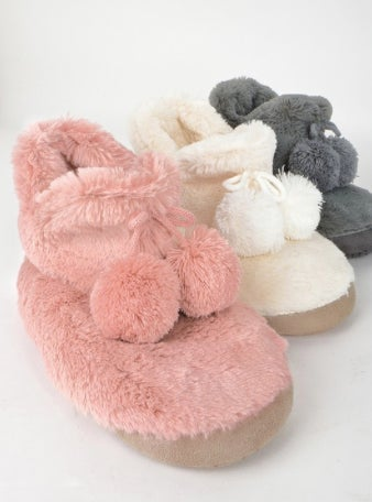 Image of Pom Pom Ball Slippers