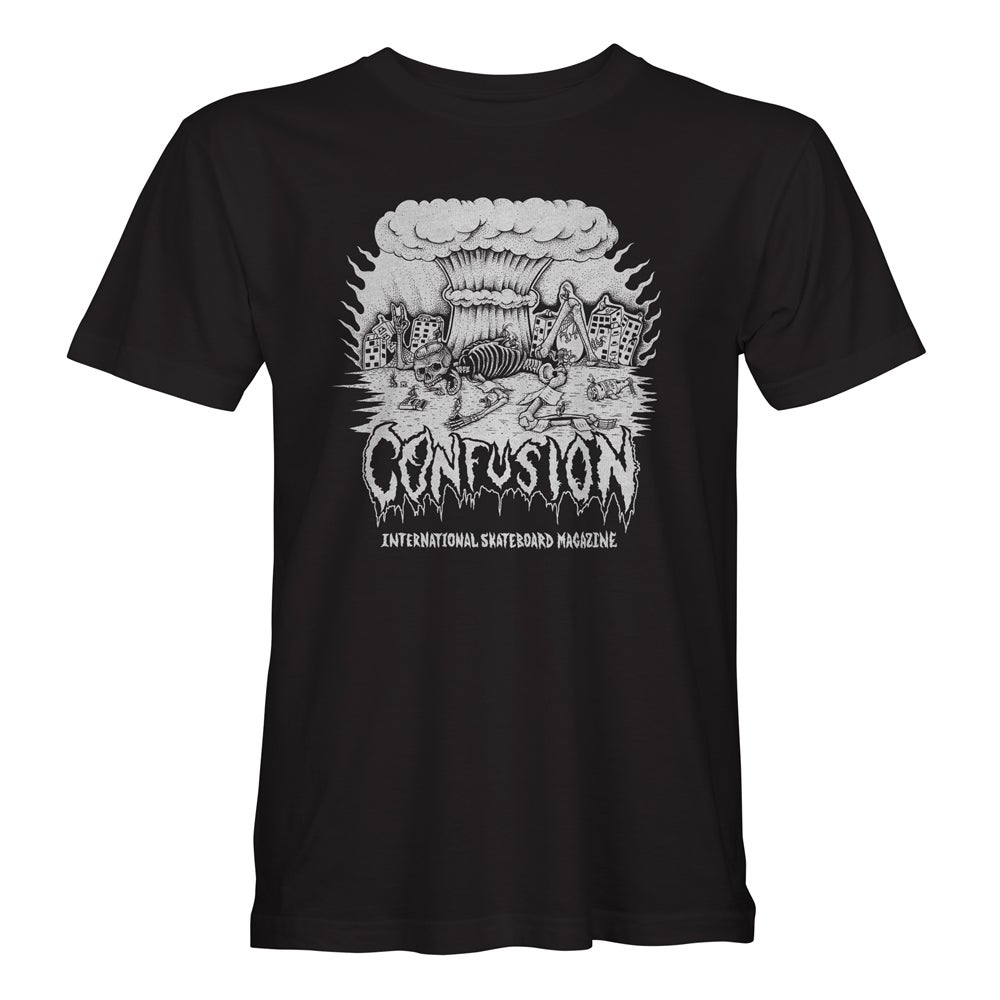 "Image of Confusion - ""Cockroach DIY"" tee [black]"