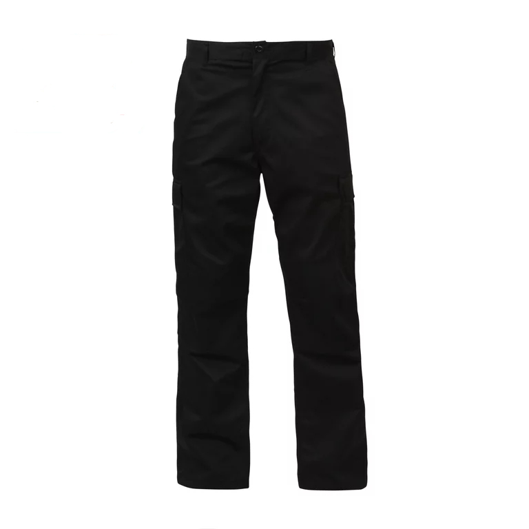 Image of Relaxed Fit Zipper Fly BDU Pants