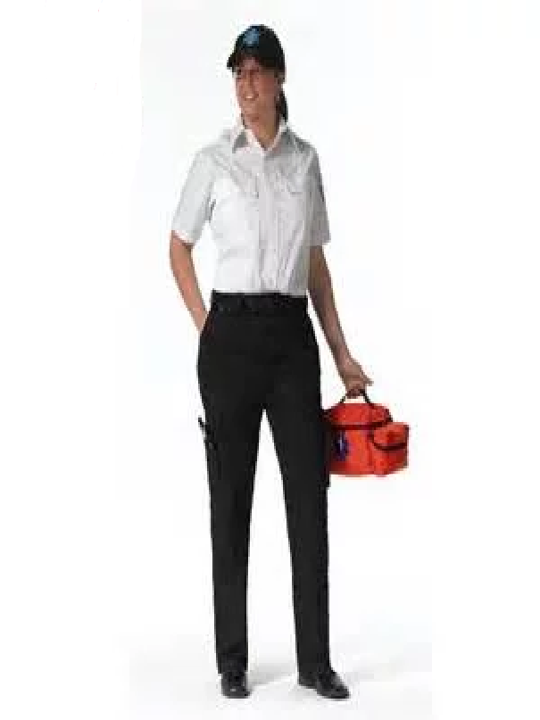 Image of 2 Pairs of Black Women's EMT Pants (Free Canvas Belt)