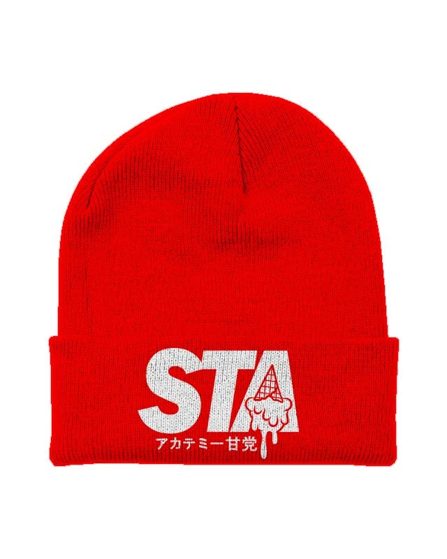 Image of Sta Last Drip Beanie Red