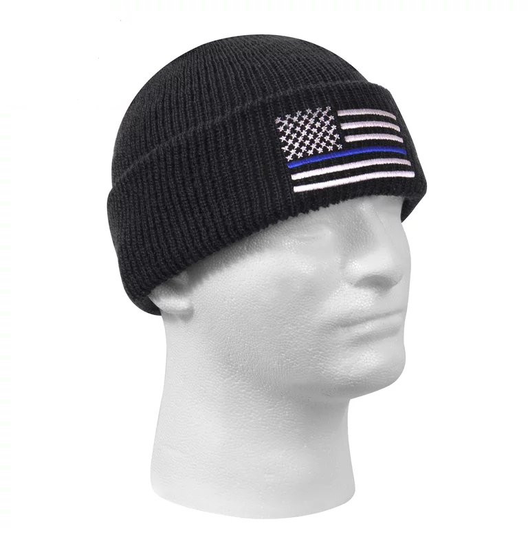 Image of Thin BLUE LINE Winter Cap