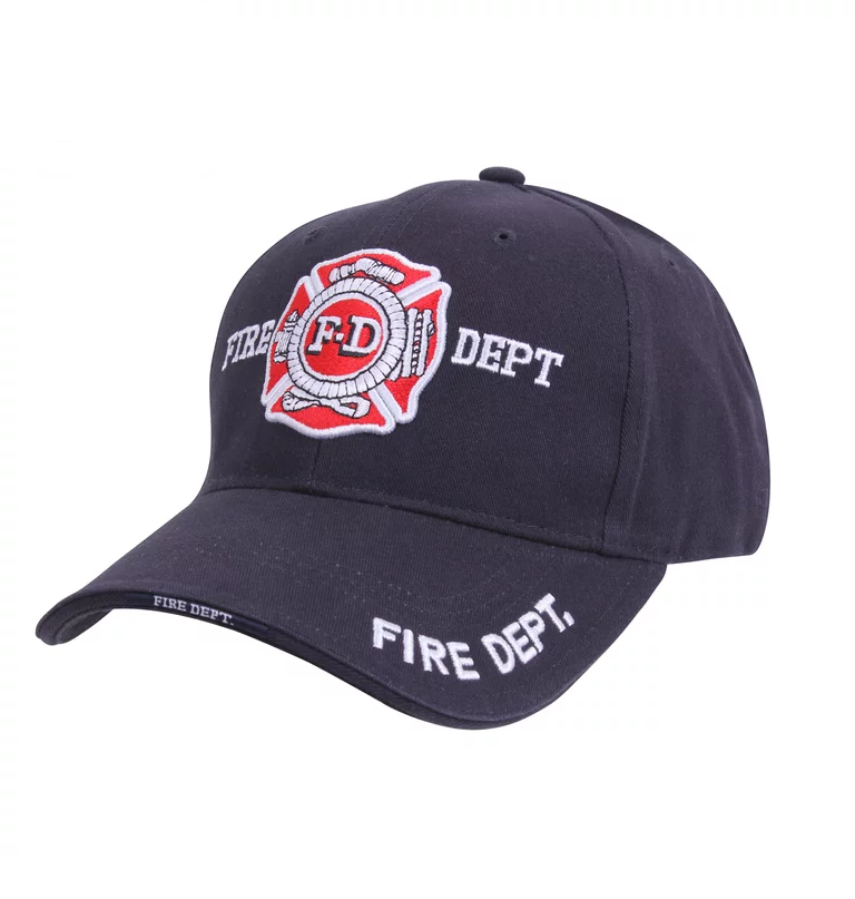 Image of Deluxe Fire Department Low Profile Cap
