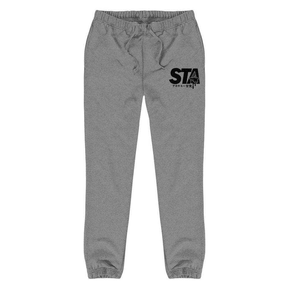 Image of Sta Last Drip Sweatpants Grey w/ Black